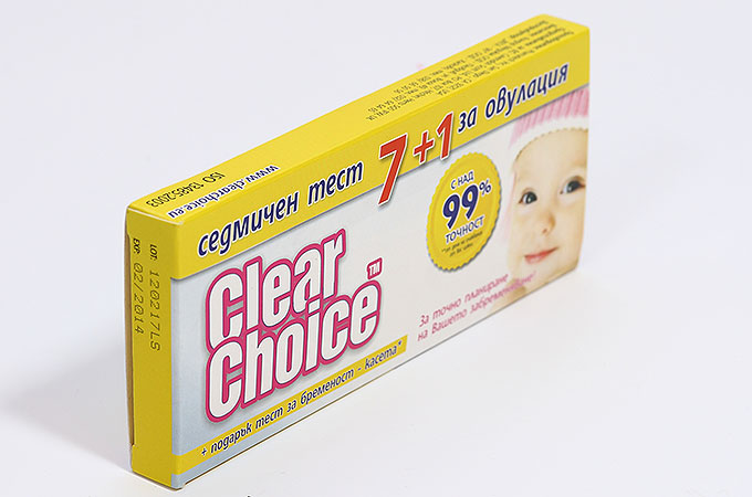 Кутия Clear Choice